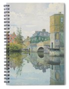 The Bridge At Saint Ives Spiral Notebook