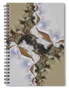 The Bridge Between The Deserts Spiral Notebook