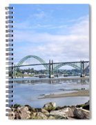 The Bridge To Old Town Spiral Notebook