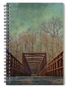The Bridge To The Other Side Of Where? Spiral Notebook