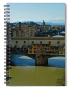 The Bridges Of Florence Italy Spiral Notebook