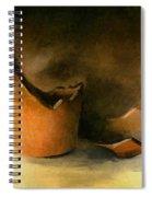 The Broken Terracotta Pot Spiral Notebook