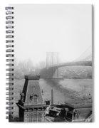 The Brooklyn Bridge 1902 Spiral Notebook