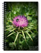 The Bug And The Thistle Spiral Notebook