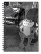 The Buggy Frog Spiral Notebook