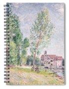 The Builder's Yard At Matrat Moret-sur-loing Spiral Notebook