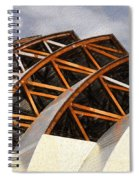 The Building Of Kauffman  Spiral Notebook