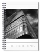 The Building Poster Spiral Notebook