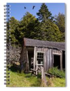 The Bunkhouse Spiral Notebook