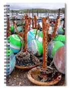 The Buoys Of Summer Spiral Notebook