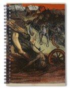 The Burden Of Taxation, Illustration Spiral Notebook