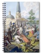 The Burial, 1812-13 Spiral Notebook