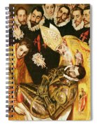 The Burial Of Count Orgaz Spiral Notebook