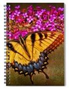 The Butterfly Effect Spiral Notebook