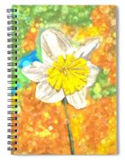The Buzzing Life Of A Spring Narcissus Spiral Notebook