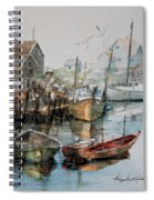 The B'y That Catches The Fish Spiral Notebook
