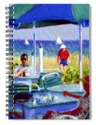 The Cabana Club Spiral Notebook