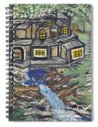 The Cabin Spiral Notebook