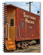The Caboose Spiral Notebook