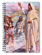 The Call Of Andrew And Peter Spiral Notebook