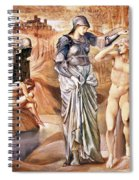 The Call Of Perseus, C.1876 Spiral Notebook