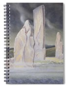 The Callanish Legend Isle Of Lewis Spiral Notebook