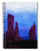 The Callanish Stones Scotland Spiral Notebook
