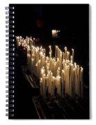 The Candles. Duomo. Milan Spiral Notebook