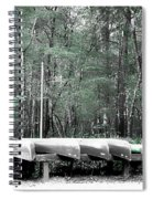 The Canoes  Spiral Notebook