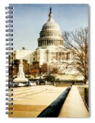 The Capitol Building Spiral Notebook