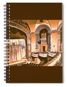 The Capitol Theater In Port Chester Ny Spiral Notebook