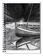 Captain Vancouvers Gig Spiral Notebook