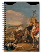 The Capture Of Carthage Spiral Notebook