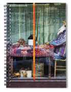 The Card Players Victor Colorado Img 8665 Spiral Notebook