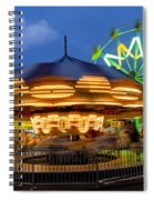 The Carnival Is In Town Spiral Notebook