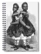 The Carolina Twins, 1866 Spiral Notebook