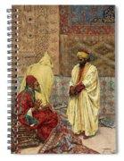The Carpet Bazaar Spiral Notebook