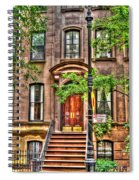 The Carrie Bradshaw Stoop From Sex And The City Spiral Notebook