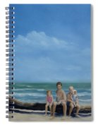 The Castaways Spiral Notebook