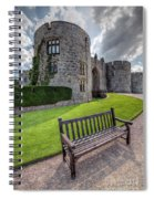 The Castle Bench Spiral Notebook