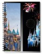 The Castles Of Disney 2 Panel Vertical Spiral Notebook