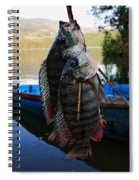 The Catch - Begnas Lake - Nepal Spiral Notebook