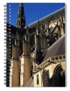 The Cathedral Basilica -  Amiens - France Spiral Notebook
