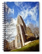 The Cathedral Of Learning 1 Spiral Notebook