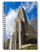 The Cathedral Of Learning 2g Spiral Notebook