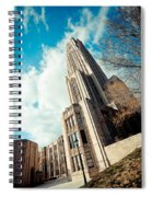 The Cathedral Of Learning 3 Spiral Notebook