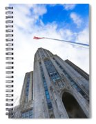 The Cathedral Of Learning 4 Spiral Notebook