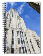 The Cathedral Of Learning 5 Spiral Notebook