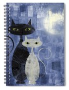 The Cats Spiral Notebook