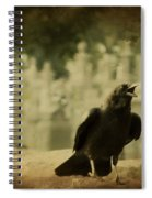 The Caw Spiral Notebook